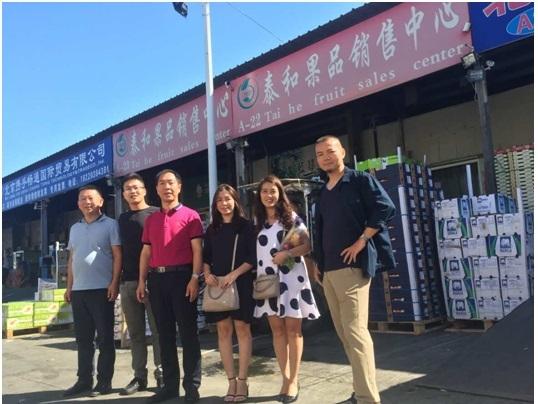 Ban lãnh đạo HNG gặp và làm việc với lãnh đạo Tai He Fruit – nhà nhập khẩu lớn tại Bắc Kinh