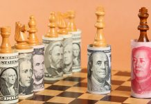 Căng thẳng Mỹ-Trung không thể cứu vớt giá vàng