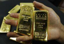 Giá vàng đã hồi phục gần 1720 sau khi lao dốc