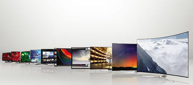 CAP15: tivi và màn hình LCD Samsung qua các thời kỳ