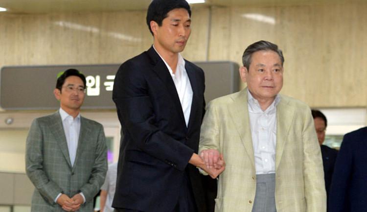 CAP 19: ông Lee Kun-hee và con trai, cũng là người kế nhiệm, Jay Y. Lee