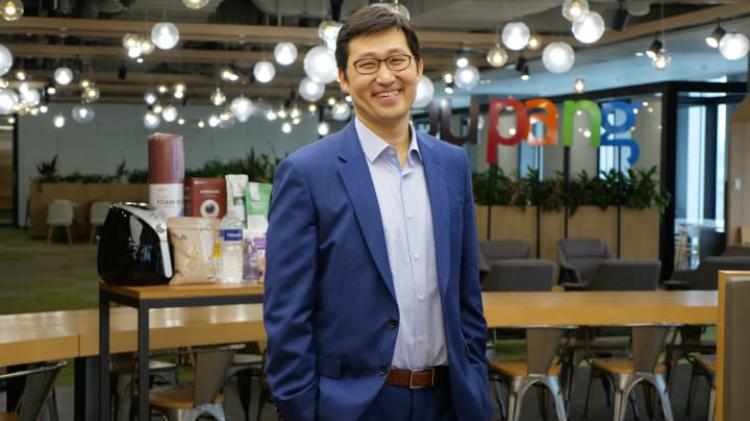 Bom Kim - nhà sáng lập, CEO của Coupang. Ảnh: CNBC