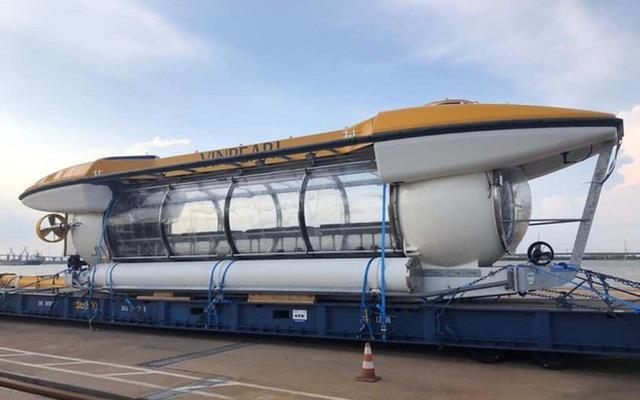 Vinpearl được triển khai thí điểm dịch vụ tàu lặn tại vịnh Nha Trang