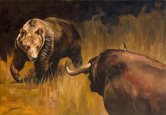 Nguồn gốc thuật ngữ Bull Market và Bear Market
