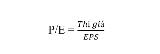 Công thức tính chỉ số P/E là gì?