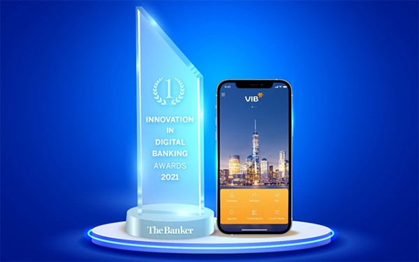 VIB nhận được giải thưởng do The Banker trao tặng