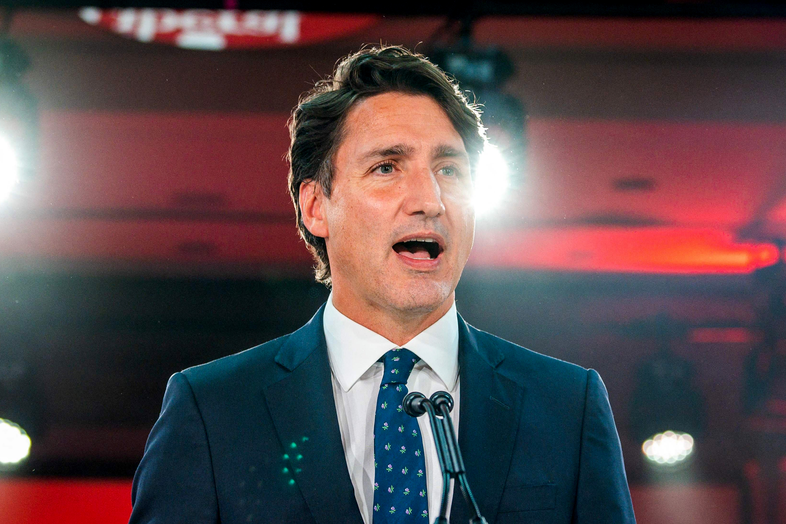 Justin Trudeau's Liberal Party wins Canada election, but misses majority