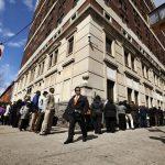 Mỹ: Số đơn đề nghị hưởng trợ cấp thất nghiệp giảm còn 787K, dự kiến là 800K