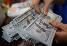 Đồng Đô la tăng nhưng giảm ngay sau đó bởi những lo ngại về lạm phát