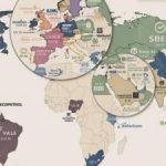 Điểm danh công ty có vốn hóa lớn nhất tại 60 quốc gia, vùng lãnh thổ