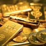 Vàng thế giới giảm xuống thấp nhất trong 2 tuần