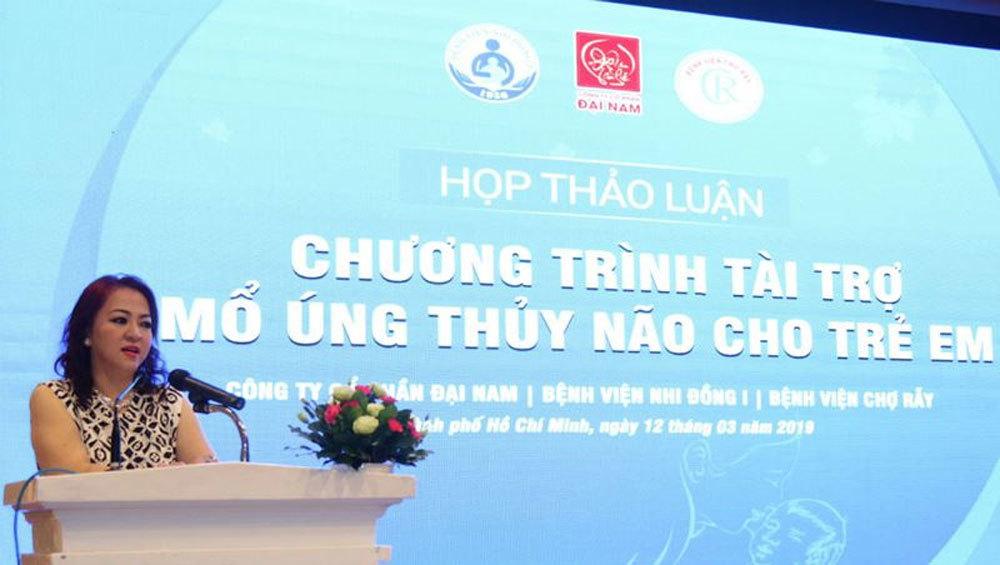 Quỹ từ thiện của bà Nguyễn Phương Hằng