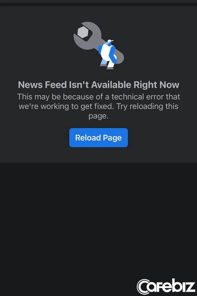Facebook, Instagram vừa sập - Ảnh 2.